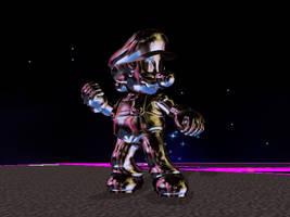 Super Mario 64 Metal by Steelia
