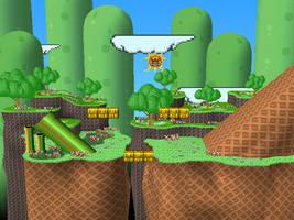 Mushroom Kingdom III by Steelia