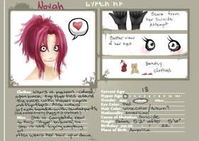 Novah Character Sheet by Xeinzeru