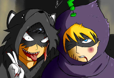 Mysterion DEFEATED (original) by RachelCorneille