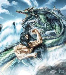 Shiryu Dragon by Matelandia