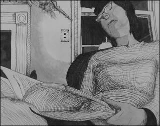 Sleep Reading by Syk3