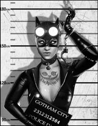 Catwoman mugshot by peter83