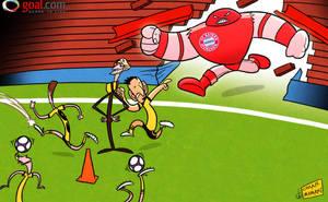 Can Dortmund stop the Bayern Munich juggernaut by OmarMomani