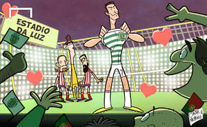 Ronaldo back in Lisbon for Decima dream by OmarMomani