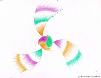 The Secondary Color Vortex by PaulTheVisualArtist