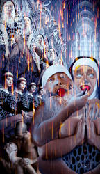 Psychosis of the celibates by lindenART