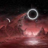 Blood Planet by ArtOfSoulburn