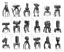 Spider Walker by ArtOfSoulburn