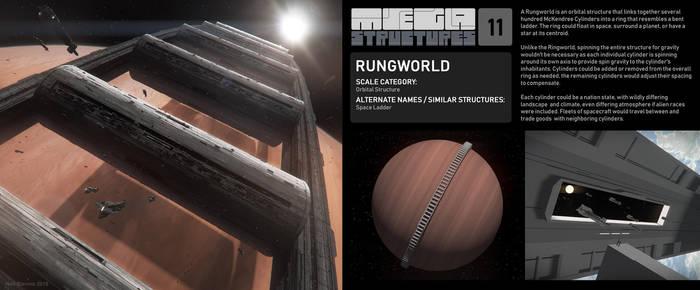 Megastructures 11 Rungworld by ArtOfSoulburn
