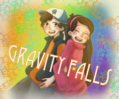 Gravity Falls by i21e