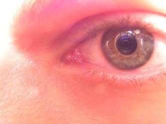 Pain in my Eye by man-in-shack