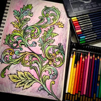 colored scrollwork by Muhobi