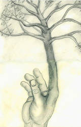 The Finger Tree by omnipotent-hen