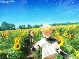 Goodbye Summer Time by deaeru