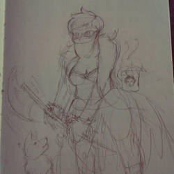 THE FINAL PAM WIP by lainypen