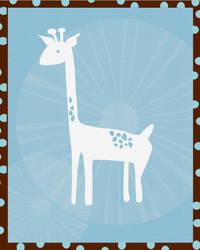 Giraffe by hockeychick