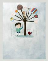 Up A Tree by hockeychick