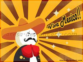 Viva Mexico by aresa