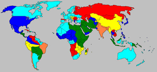 CnC Generals World Map by DaUziel