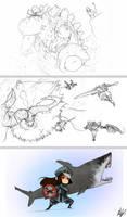Monster Hunter Scraps. by Endling