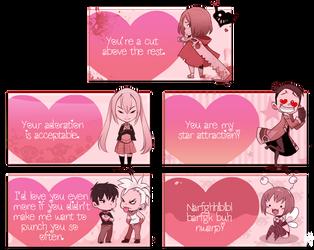 OC Valentine Cards by Endling