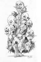 S13 Art - The Darklings. by Endling