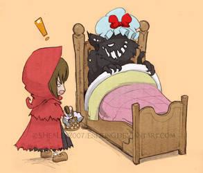Big Bad Bed. by Endling