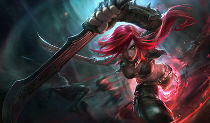 Katarina Base Splash by alvinlee