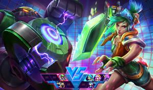 Arcade Riven Vs. Final Boss BlitzCrank by alvinlee