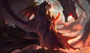 DRAGON MASTER SWAIN by alvinlee