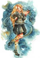 Luna Lovegood by Cindora