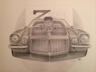 Camaro z28 by G-REDNEK