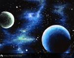 Blue Nebula by NoelleMBrooks
