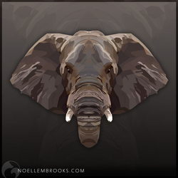 African Elephant by NoelleMBrooks