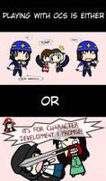 Only Two Types of OC Writers... by Kigurou-Enkou