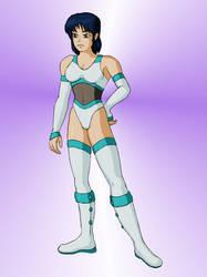 OC Wrestler: Yumi by Unrelatedpants