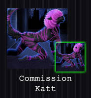 COMMISSION - Katt by PointyHat
