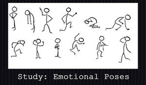 Emotional Poses - A Study by PointyHat
