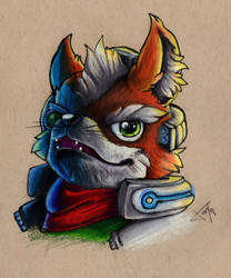 Fox McCloud by MrSirBubbles