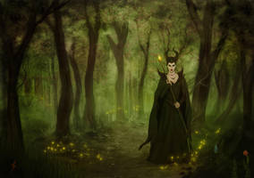 Maleficent II by TobyFoxArt