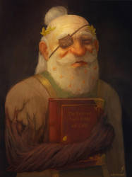 Merle - Dwarven Cleric by TobyFoxArt