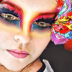 Butterfly lady by artylou