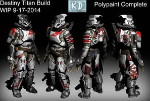 Destiny Titan Poly paint Finished by EvilOverseer