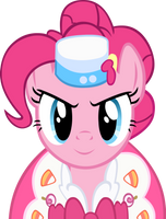 Pinkie Pie At the Gala by Alexstrazse