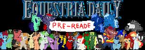 Equestria Daily Pre-Reader Banner by Alexstrazse