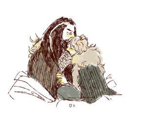 Thorin x Bilbo 3 by dugonism