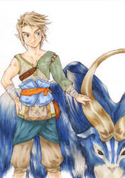 Link from Ordon Redraw by Initial-Brainfreeze