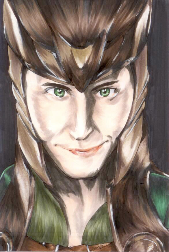 The God of Mischief by Initial-Brainfreeze