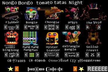 NONGO BONGO TOMATO TATAS NIGHT by PandoraTheDragon